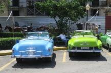 Schöne alte und gut gepflegte Taxis
