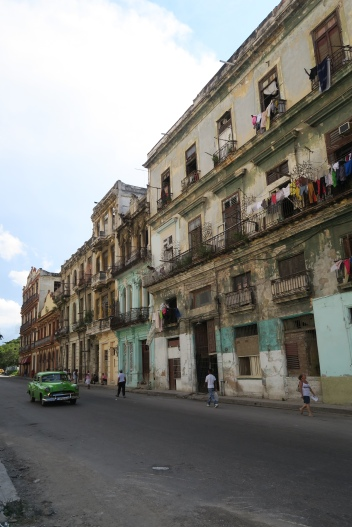 Das typische Havanna mit den alten Autos